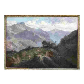 C. 1911 John Califano Oil Painting For Sale