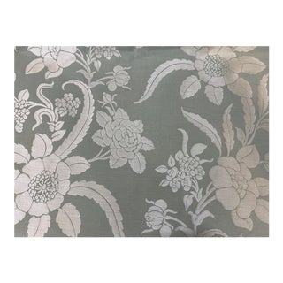 Cowtan & Tout Floral Silk Brocade Fabric - 4 Yards For Sale