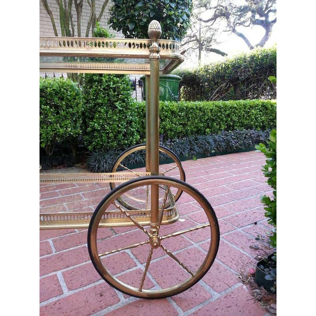 1960s 18th C Maison Bagues Serving Cart For Sale - Image 5 of 6