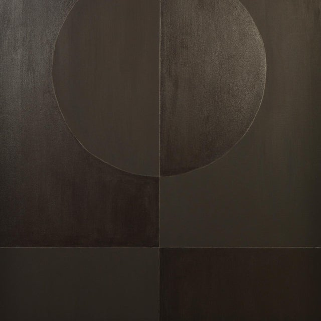 2010s Eclipse Double Black Painting by Stephen Hansrote For Sale - Image 5 of 6