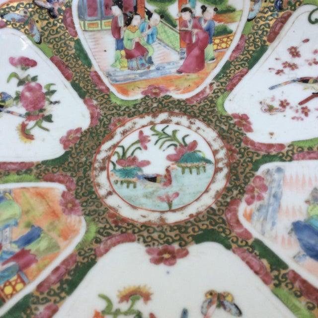 Chinese Canton Famille Rose Serving Platter - Image 5 of 11