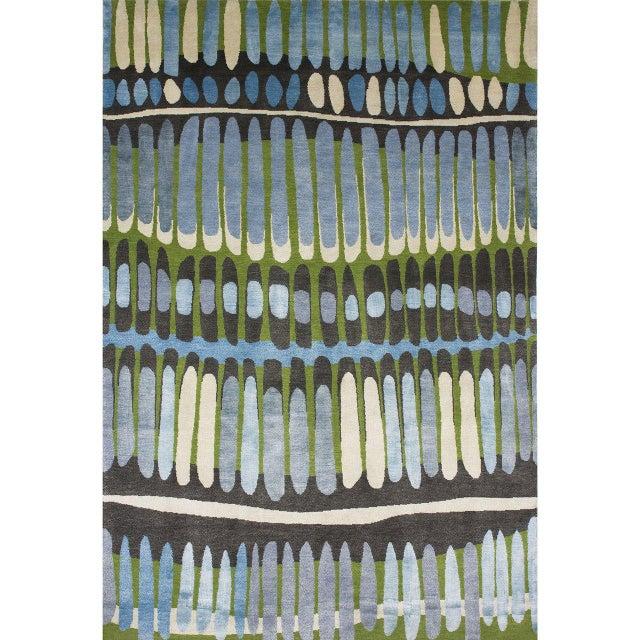"""Emma Gardner """"Fire Island"""" Rug by Emma Gardner For Sale - Image 4 of 4"""