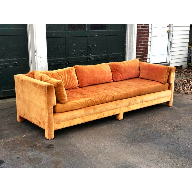 Selling a beautiful Erwin Lambeth sofa circa 1970s. Very rare and hard to find this style. Super comfortable and cozy....