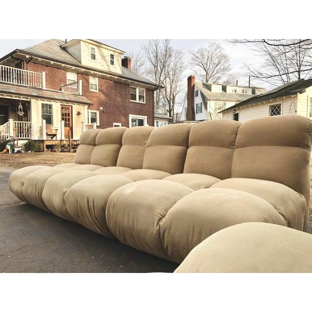1970s Vintaeg Mario Bellini Camaleonda Style Modular Sofa For Sale - Image 9 of 13
