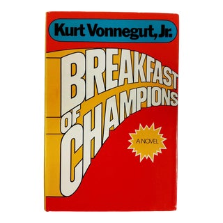 "1973 ""Breakfast of Champions"" Collectible Book For Sale"