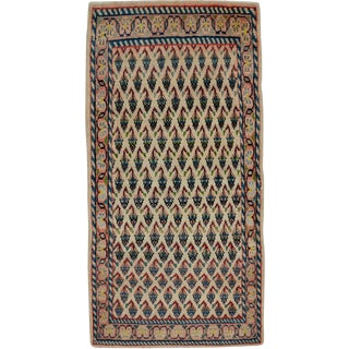"Vintage Persian Hamadan Rug – Size: 2' 2"" X 4' 4"" For Sale"