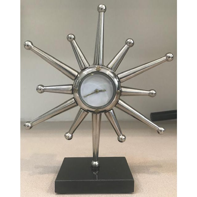 2010s Global Views Star Desk Clock For Sale - Image 5 of 5
