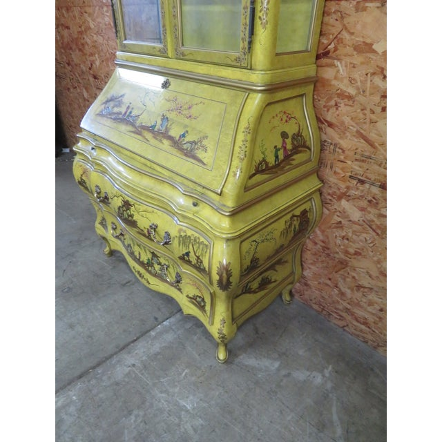 Chinoiserie Bombay Secretary Desk For Sale In Philadelphia - Image 6 of 8