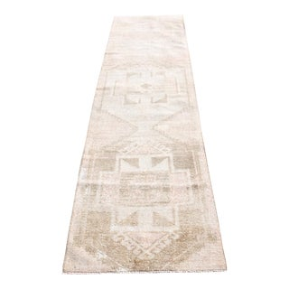 1970s Turkish Oushak Runner-3′1″ × 11′1″ For Sale