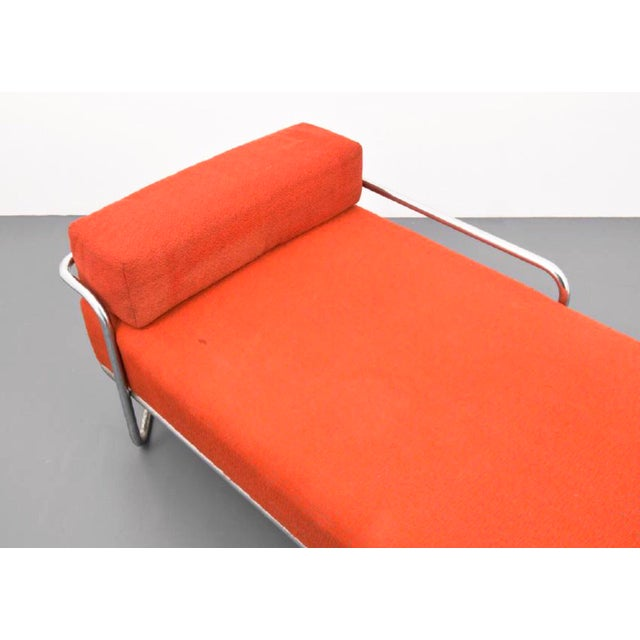 Iconic and extremely rare Bauhaus masterpiece by Bruno Weil, the B 267 Daybed for Ausführung: Gebr. Thonet A.G.,...