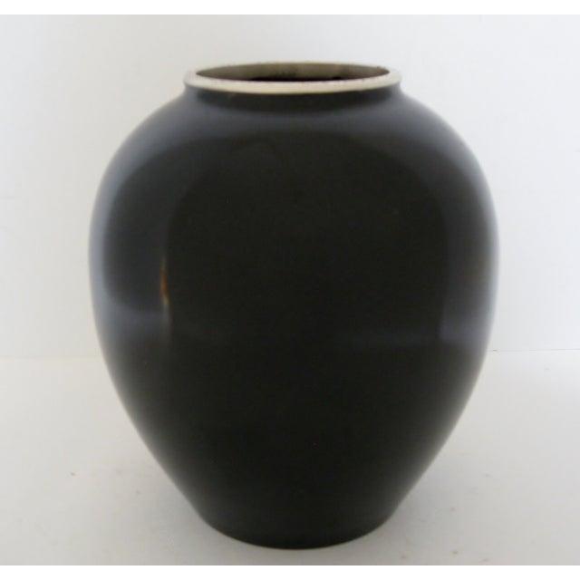Vintage Meiji Metalwork Vases - A Pair - Image 8 of 11