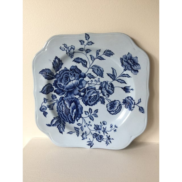 1960s Johnson Brothers English Blue & White Dinnerware For Sale - Image 5 of 8