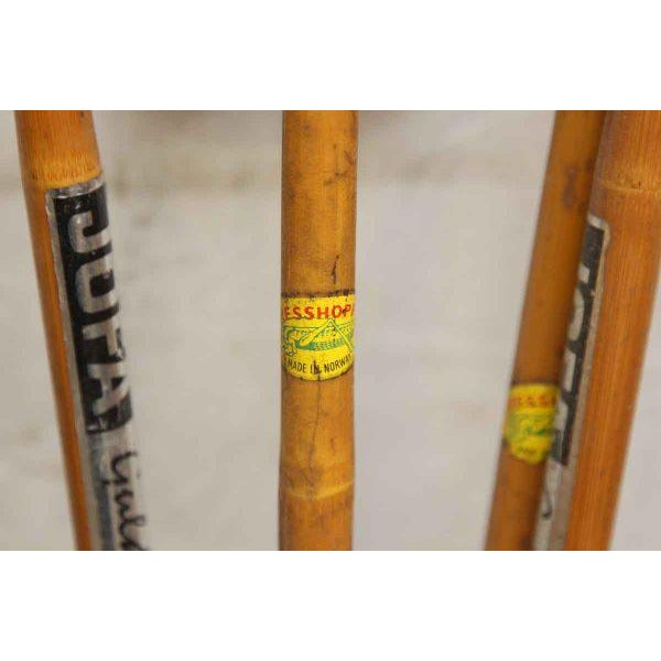 Set of Vintage Ski Poles - a Pair - Image 4 of 7