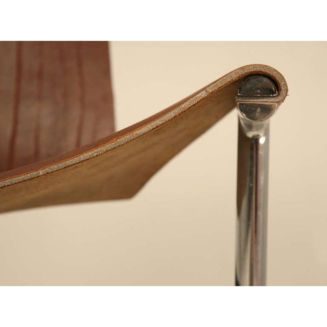 """Original Vintage """"T"""" Chair by Katavolos, Kelly & Littell for Laverne International - Image 5 of 11"""