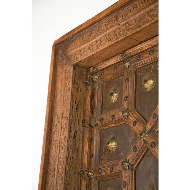 Antique African Doors - A Pair For Sale - Image 9 of 12
