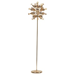 Sputnik Floor Lamp in Brass by Cosack Leuchten, Germany For Sale
