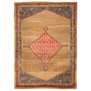 Exceptional Antique Early 19th Century Persian Bakshaish Carpet For Sale