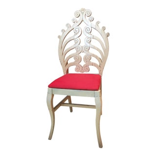 1940's Chair in the Style of Frances Elkins For Sale
