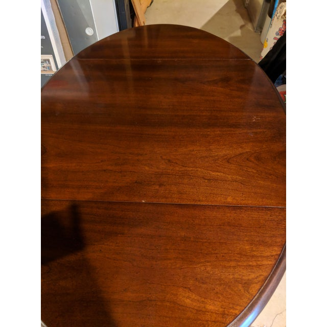 Thomasville Queen Anne Style Side Table For Sale - Image 4 of 6