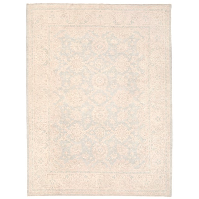 """Pasargad Ferehan Wool Rug - 9' 2"""" X 12' For Sale"""