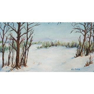 Winter Landscape Painting For Sale