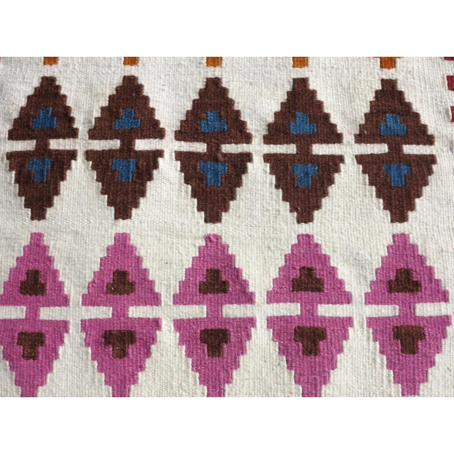 "Textile Anatolian Turkish Kilim Runner-3'1'x13"" For Sale - Image 7 of 13"