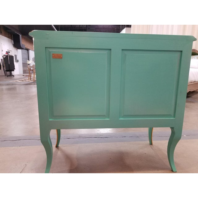 Italian Solid Cherry Chest of Drawers / Console For Sale - Image 4 of 10