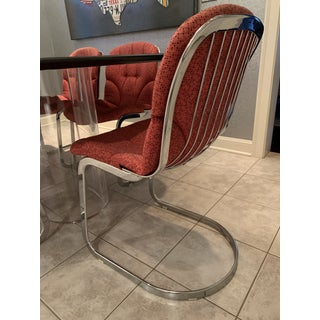 Vintage Cidue Italian Chrome Willy Rizzo Chairs - Set of 8 Preview