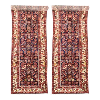 Antique Persian Malayer Carpet Runners