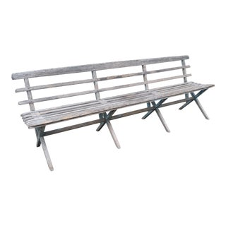 Rustic Indonesian Bench For Sale