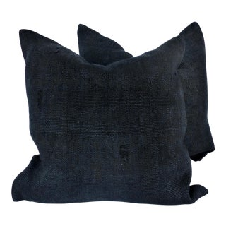 "24"" Square Hemp Down Filled Pillows - a Pair"
