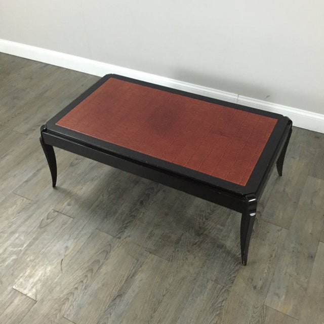 Interior Crafts Faux Crocodile Coffee Table - Image 10 of 10