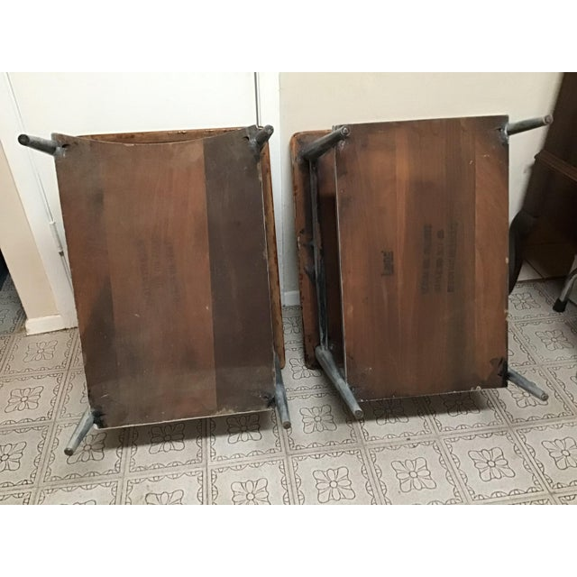 1900s Mid-Century Modern Lane Acclaim Dovetail Coffee and Side Tables - 3 Piece Set For Sale - Image 11 of 13