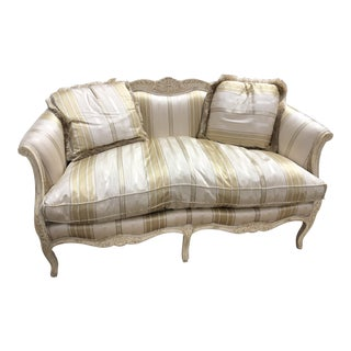 1970s Vintage Louis XVI Style Sofa For Sale