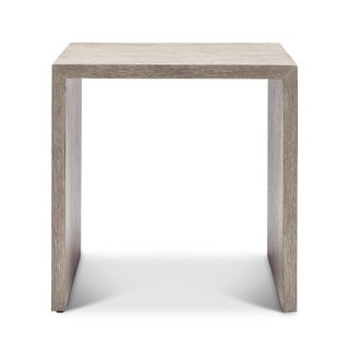 Justine End Table, Putty Grey Preview
