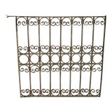 Image of Antique Victorian Iron Gate Architectural Salvage Door For Sale