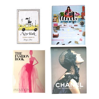 Chanel, Kate Spade Fashion Coffee Table Books - Collection of 4 For Sale