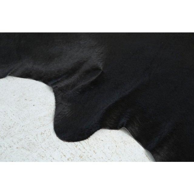 Genuine Brazilian Cowhide, Black - Image 3 of 4