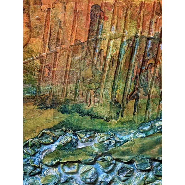 2010s Terra Firma Abstract Painting For Sale - Image 5 of 5