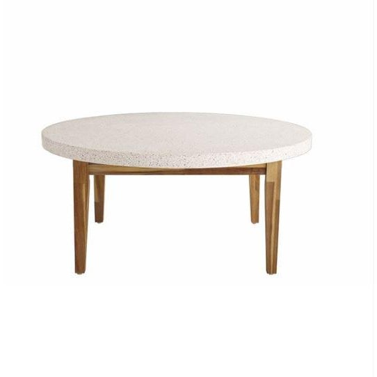 Kenneth Ludwig Chicago Kenneth Ludwig Terrazzo Coffee Table For Sale - Image 4 of 4