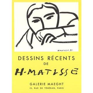 Henri Matisse, Dessins Recents, 1968 For Sale