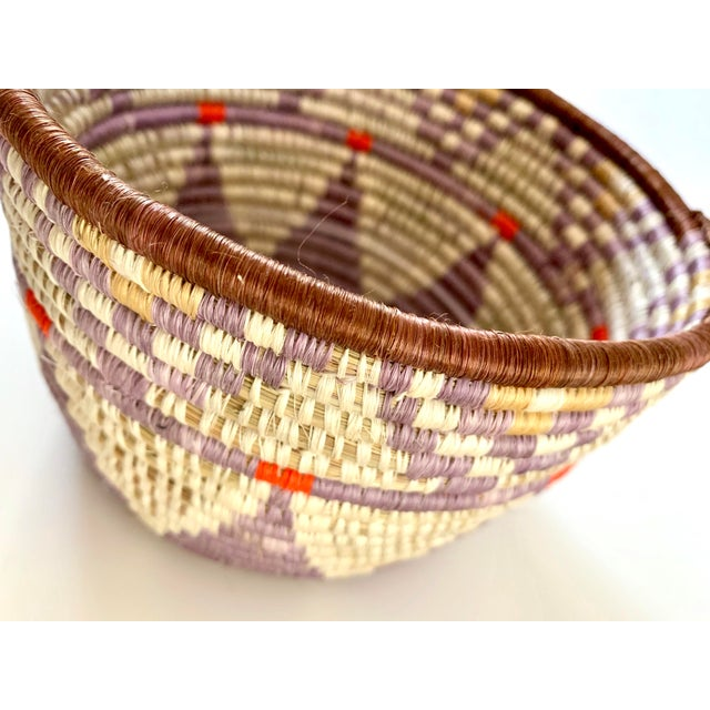 Tribal Style Handwoven Planter/Basket For Sale In San Francisco - Image 6 of 10