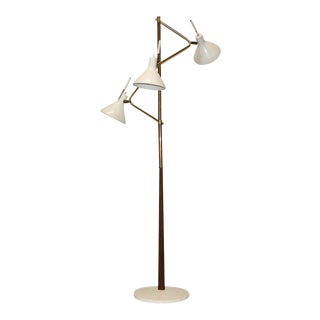 Lightolier Pivotal Shade Floor Lamp