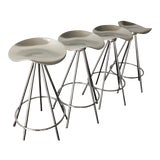 Image of 1990s Vintage Pepe Cortés for Knoll Jamaica Bar Stools - Set of 4 - Out of Production/Discontinued! For Sale