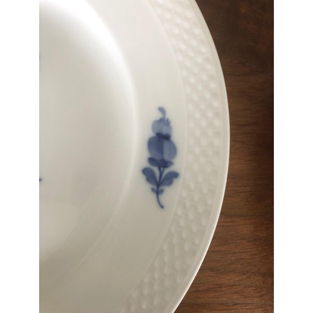 Vintage Royal Copenhagen Service Dinner Plates - Set of 10 For Sale In Philadelphia - Image 6 of 12