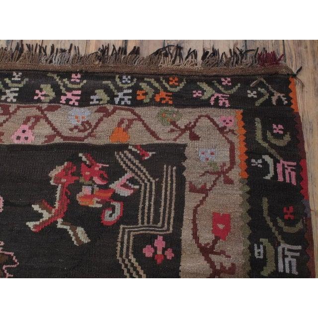 Textile Large Kars Kilim For Sale - Image 7 of 7