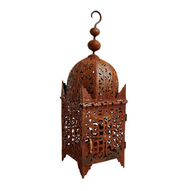 Moroccan Kasbah Lantern For Sale - Image 4 of 4