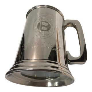 "Vintage Pewter ""53RD"" W.R.S. Hurricane Hunter Beer Stein"