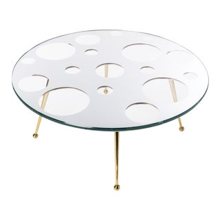 Holy Mirror Coffee Table by Artist Troy Smith - Contemporary Design - Artist Proof - Custom Furniture For Sale