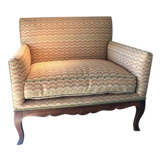 English Wide Lounge Chair For Sale